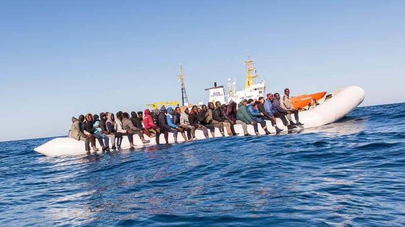 Bundespolizei-Schiffe retten im Mittelmeer über 3.400 Menschen