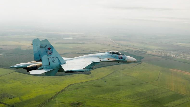 Russische Militärflugzeuge steigen fünfmal pro Woche zum Abfangen ausländischer Flieger in die Luft