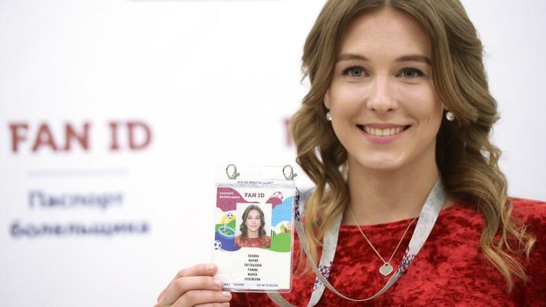 Visafrei nach Russland: Die erste Fan-ID für WM 2018 wird ausgestellt