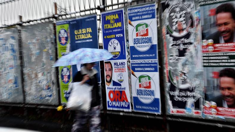 Italien wählt Parlament – Wahllokale öffnen