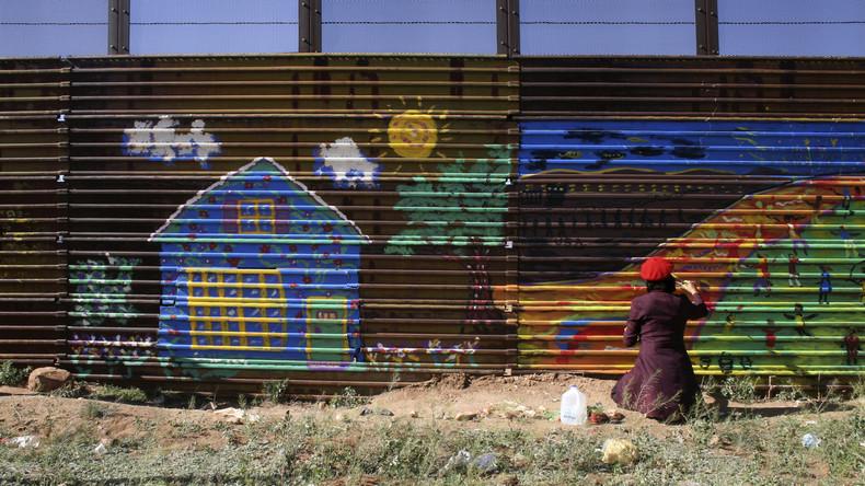 New Yorker Museum zeigt Grenze zwischen USA und Mexiko als Schmuck