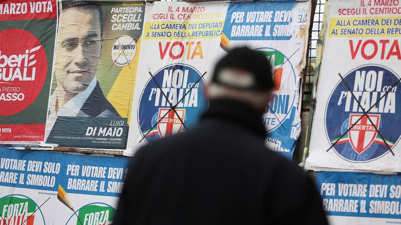 """Von """"Bunga Bunga"""" bis zum """"Verschrotter"""": Die Kandidaten der Italien-Wahl im Überblick"""