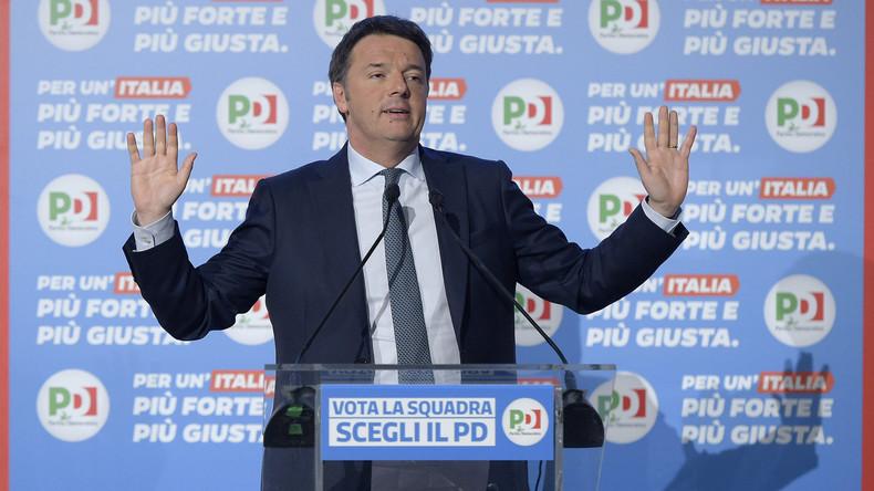 """Italiens regierende Mitte-Links-Regierung ist nach Wahlen """"so gut wie verschwunden"""""""