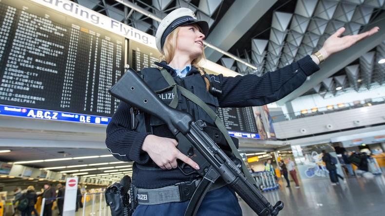 Polizei nimmt mutmaßlichen Islamisten am Frankfurter Flughafen fest