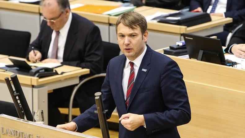 Sachsen-Anhalt: AfD-Politiker Poggenburg leitet Enquete-Kommission zu Linksextremismus