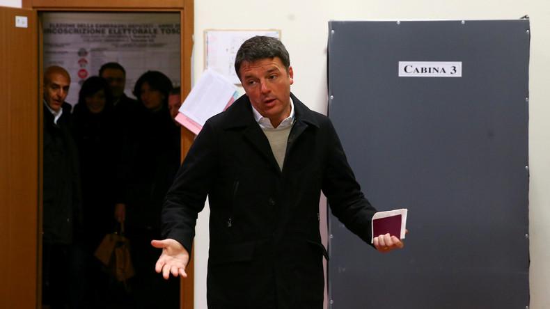 Berichte: Italienischer Sozialdemokraten-Chef Matteo Renzi tritt zurück