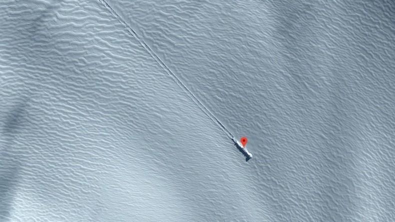 UFO auf antarktischer Insel? Satellitenbilder lösen Spekulationen über Außerirdische aus
