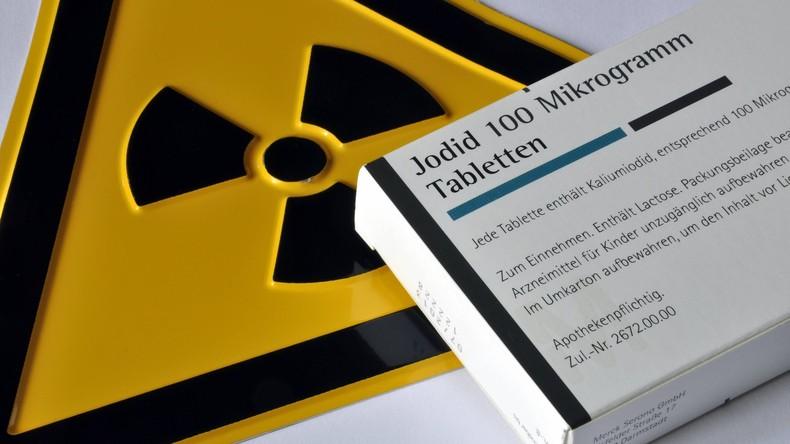 Vorbereitung auf nukleare Katastrophe? Landesweite Verteilung von Jodtabletten in Belgien gestartet