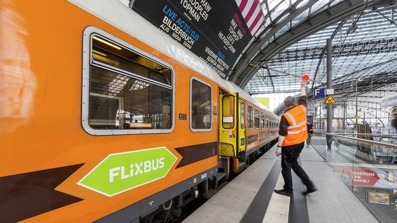 Jetzt auch auf der Schiene: Flixbus startet Zug-Angebot in Deutschland