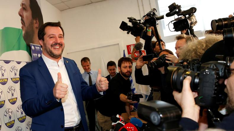 Italien nach der Wahl: Keine klare Mehrheit und Migrantenkrawalle (Video)