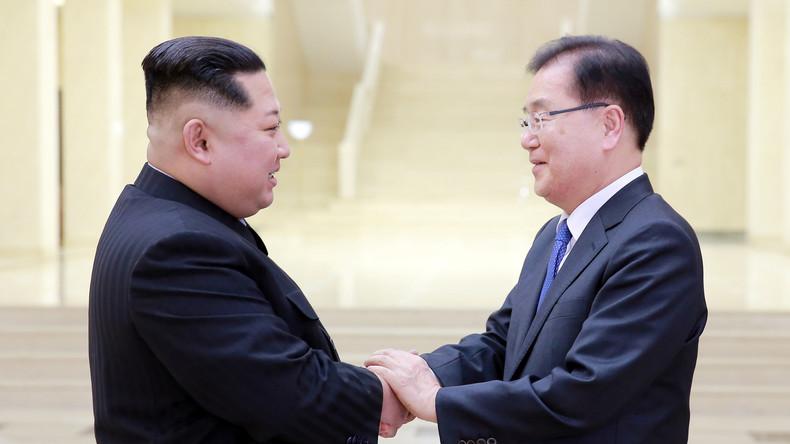 Dialog zwischen Nord- und Südkorea: USA besorgt um Stabilität (Video)