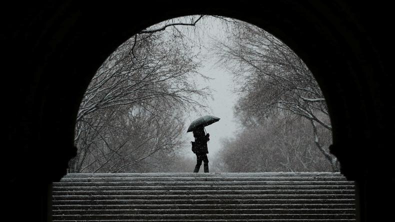 Mindestens eine Tote bei neuem Schneesturm an US-Ostküste
