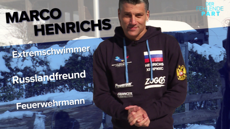 """Russische Sportschule in Deutschland? """"Das ist halt nicht gewünscht"""" – Extremschwimmer Henrichs"""