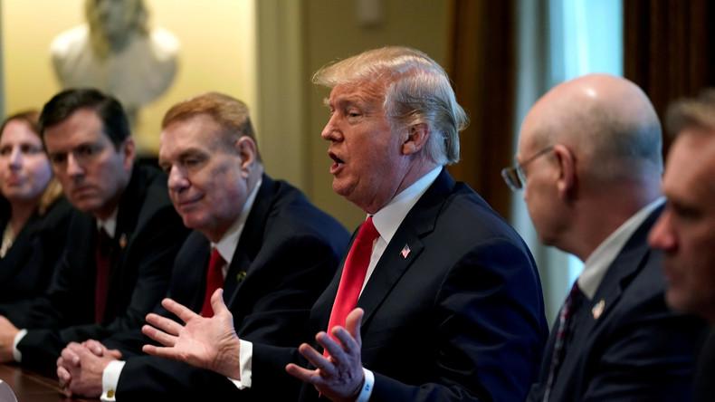 Trump über Stahl- und Aluminium-Importe: Zollbefreiungen für militärische Partner möglich