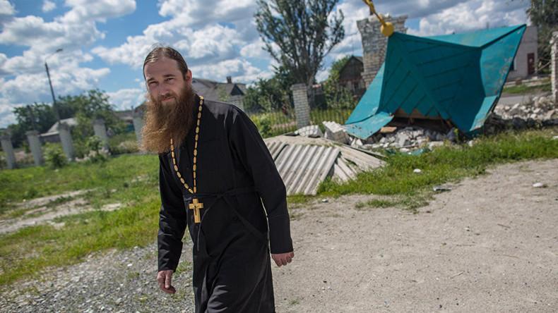 Ukraine: Regierungsnahes Portal gibt russisch-orthodoxe Priester zum Abschuss frei