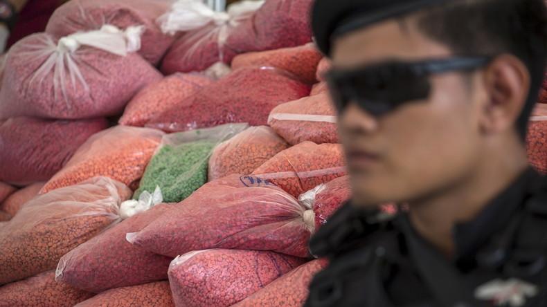 Riesenfang in Thailand: 447 Kilogramm Chrystal Meth sichergestellt