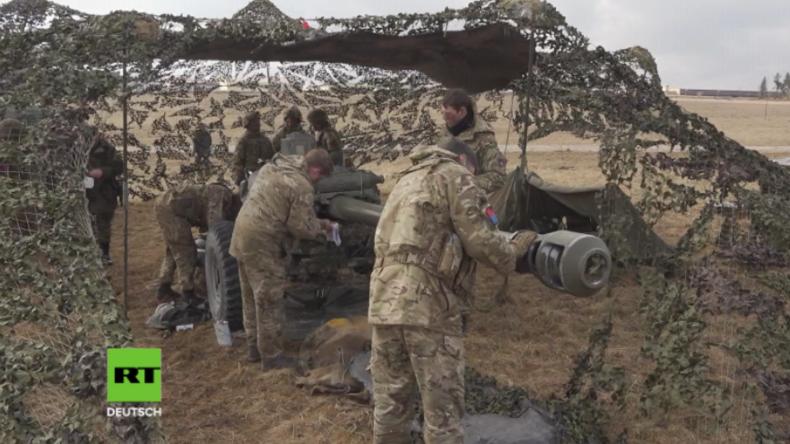 """Massives Militärtraining der US-Armee in Deutschland: """"Werden den Frieden in Europa verteidigen"""""""
