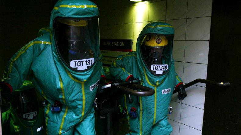 Nach Vergiftung des Doppelagenten lässt Polizei 180 Militärs und Chemiewaffenspezialisten anrücken