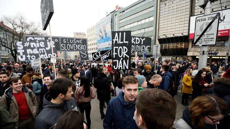 EU-Parlamentarier recherchieren nach Journalistenmord in der Slowakei