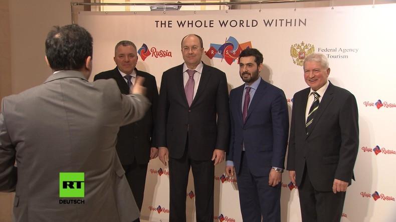 Bereit für FIFA 2018: Russland verzeichnet Touristen-Zuwachs aus Deutschland (Video)