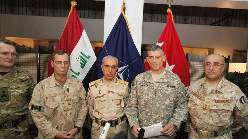 Um den Iran zu schwächen: NATO will irakische Offiziere ausbilden