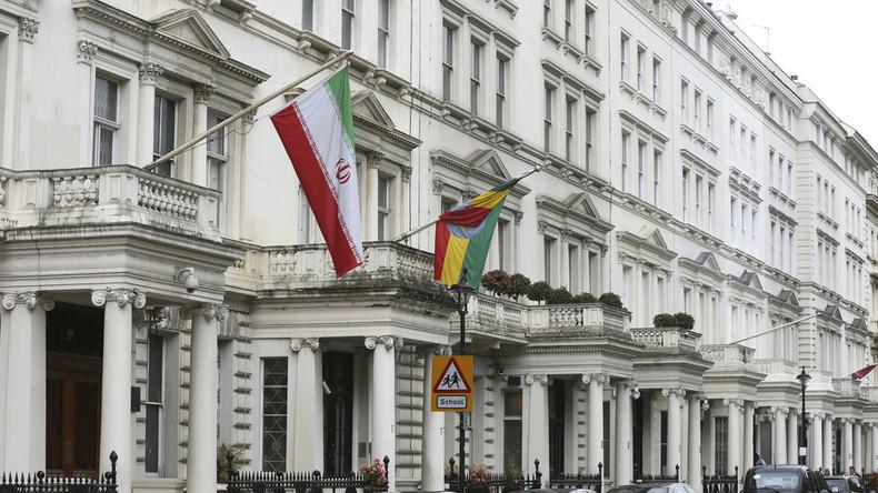Medienbericht: Angriff auf iranische Botschaft in London