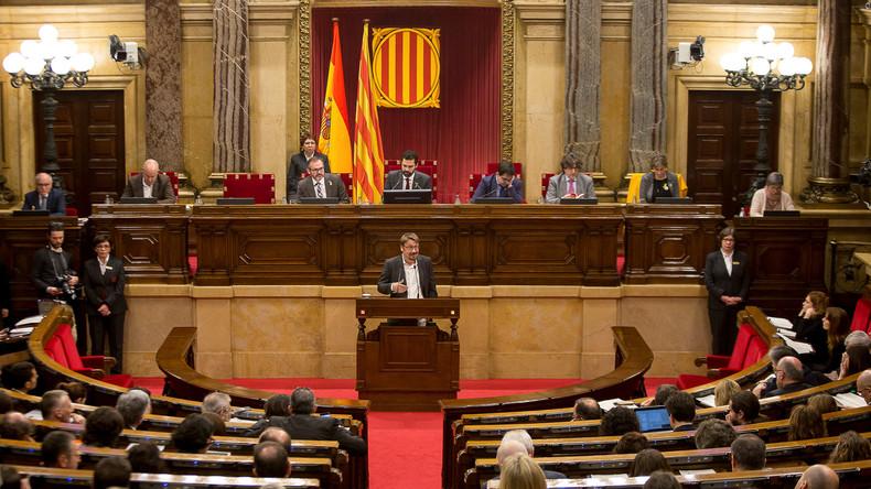 Kataloniens Parlament verschiebt Debatte über Regierungsbildung