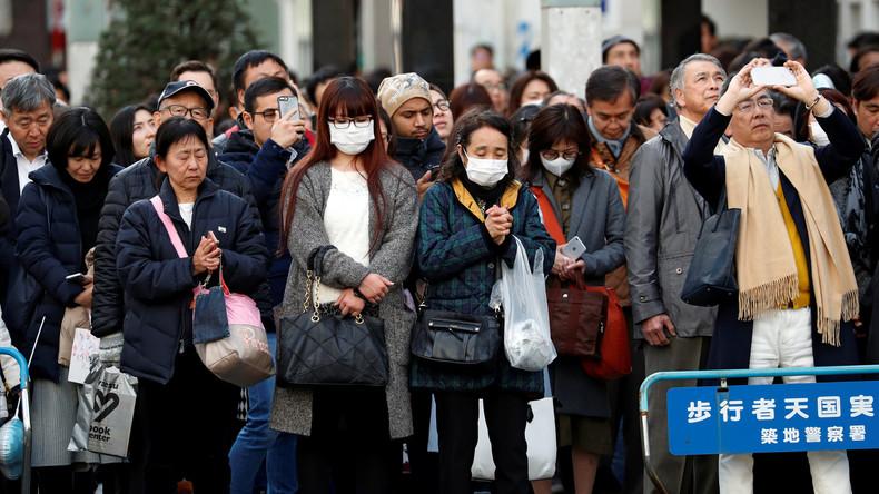 Japan gedenkt der Opfer der Tsunami-Katastrophe im Jahr 2011