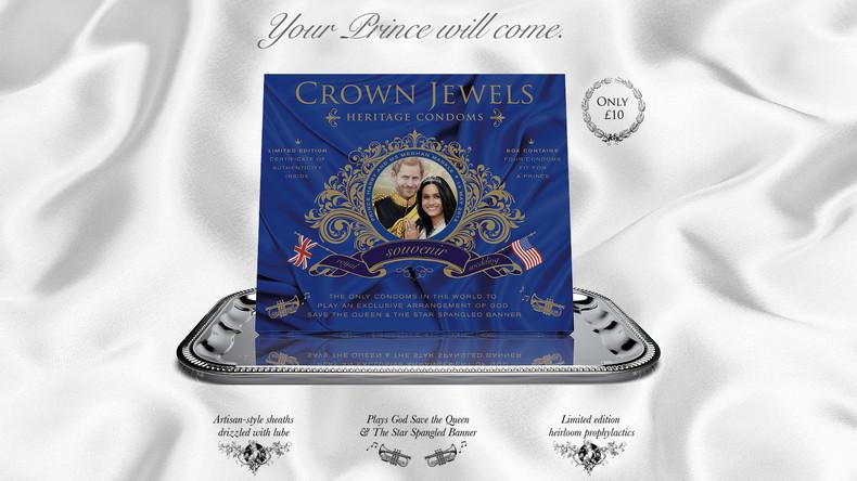 """""""Dein Prinz wird kommen"""": Britische Firma produziert musikalische Kondome zu Prinz Harrys Hochzeit"""