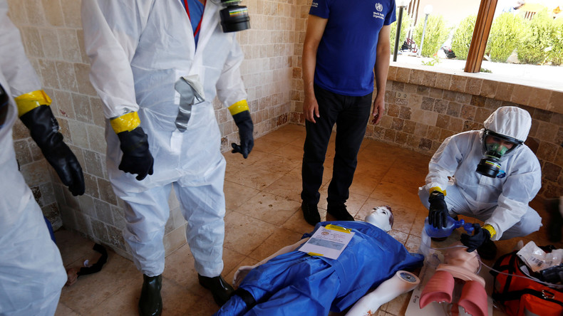 Syrien: Islamisten in Ost-Ghuta planen vorgetäuschten Chemieangriff