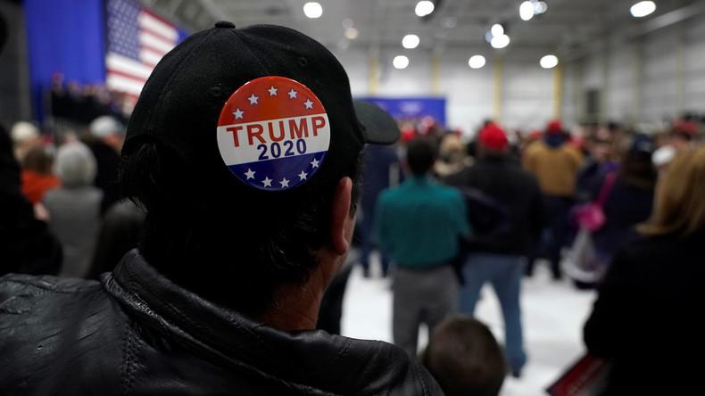 """Donald Trump hat Wahlslogan für 2020: """"Lasst Amerika großartig bleiben"""""""