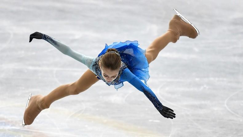 13 Jahre alte Russin springt erstmals zwei Vierfache in Eiskunstlaufkür