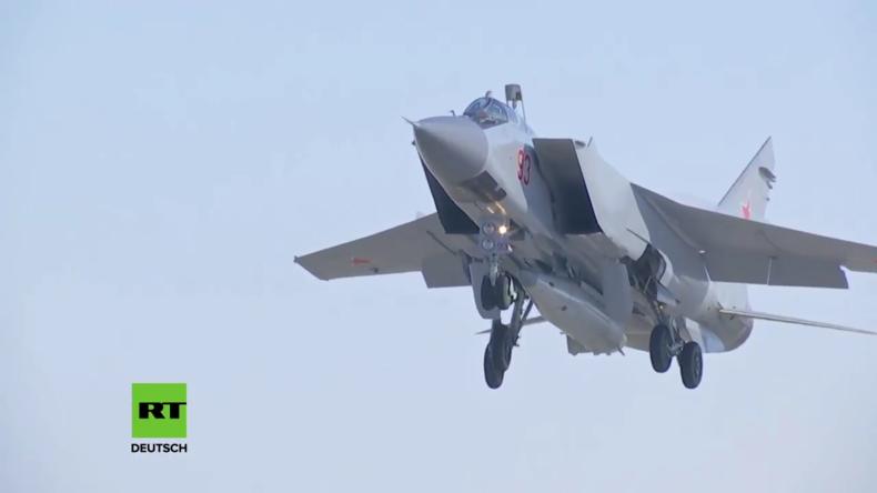 """Russland: """"Kinzhal""""-Hyperschall-Raketensystem erfolgreich getestet"""