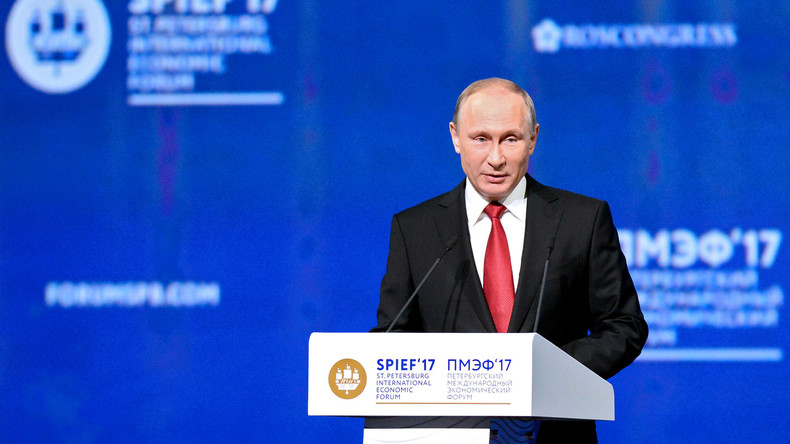 Daten für 22. Internationales Wirtschaftsforum in Sankt Petersburg 2018 stehen fest