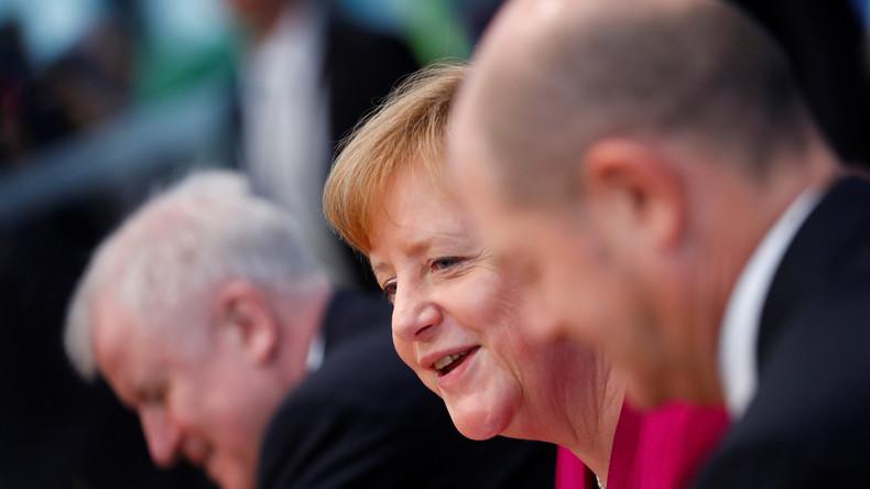 LIVE: CDU, CSU und SPD unterzeichnen Koalitionsvertrag der neuen GroKo