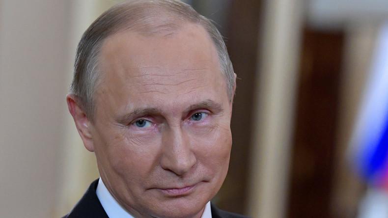 Wladimir Putin – parteiunabhängiger Kandidat