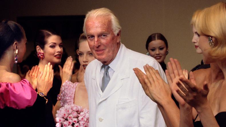 Modeschöpfer Hubert de Givenchy im Alter von 91 Jahren gestorben