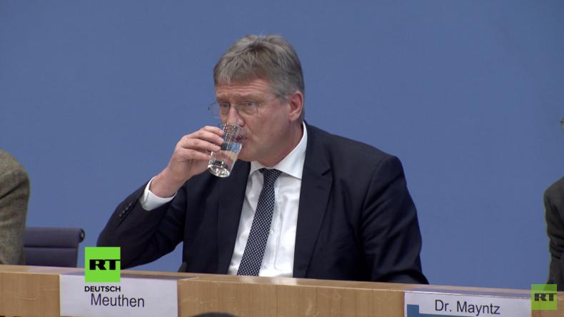 """AfD-Vorsitzender Meuthen zu Tafel-Problem: """"Stehen für das Fundament der sozialen Marktwirtschaft"""""""