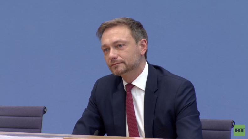 """Lindner auf Bundespressekonferenz: Digitalisierungsministerium für """"mehr Dynamik"""" (Video)"""