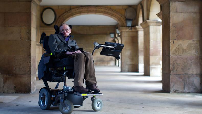 """""""Genie der Astrophysik"""": Renommierter britischer Wissenschaftler Stephen Hawking ist tot"""