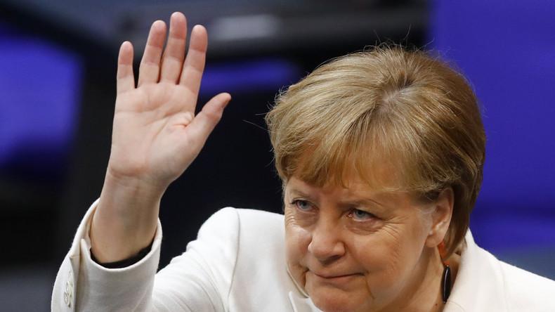 LIVE: Wird der Bundestag Angela Merkel zur Kanzlerin wiederwählen?