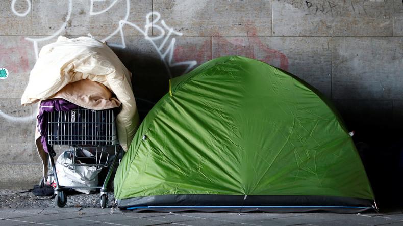Kommunen überfordert: Obdachlose Osteuropäer stranden vermehrt in deutschen Großstädten