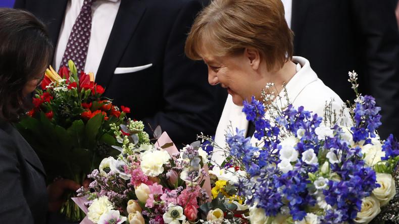 LIVE: Angela Merkel wird als Bundeskanzlerin vereidigt