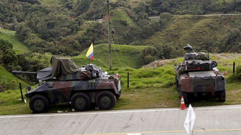 Kolumbien: Kein Geld für den Frieden – viel Geld für den Krieg