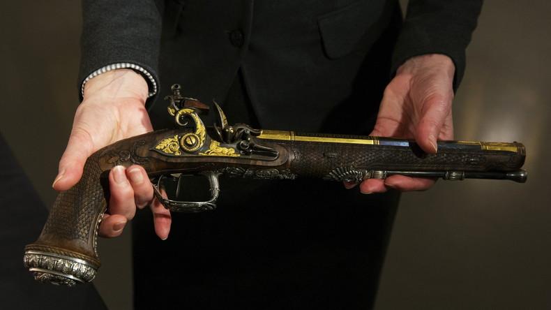 500 Jahre alte spanische Pistole könnte US-Geschichte verändern