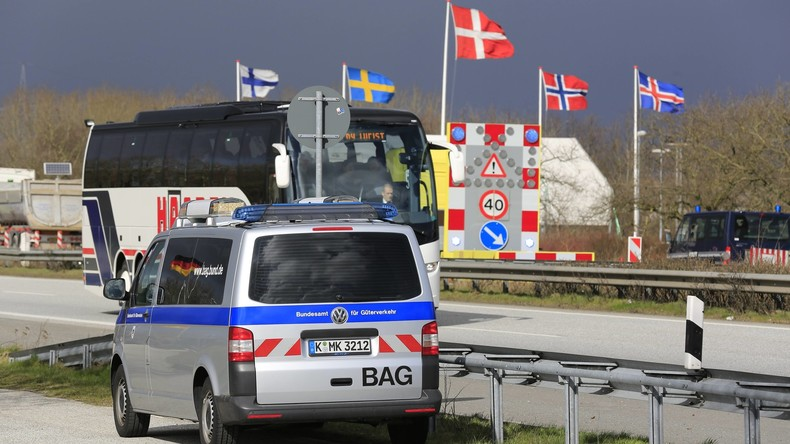 Rund 5.500 Ausländer an dänisch-deutscher Grenze abgewiesen