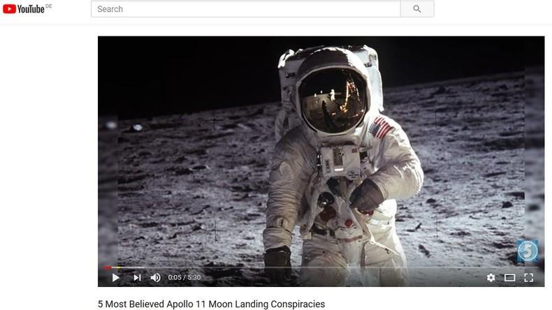 """Verschwörungstheorien"" bei Youtube: Wikipedia soll bei Zensur helfen"
