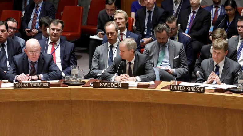"Russischer UN-Beauftragter: Anschuldigungen gegen Russland wegen Nervengasangriffs ""inakzeptabel"""