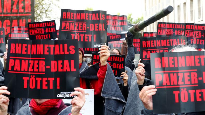 Trotz Syrien-Offensive der Türkei: Millionenschwere Rüstungsexporte aus Deutschland