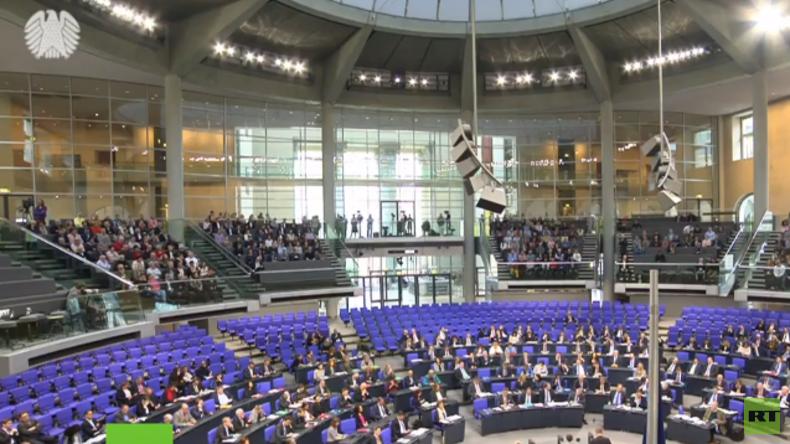 LIVE: 20. Sitzung des Deutschen Bundestages